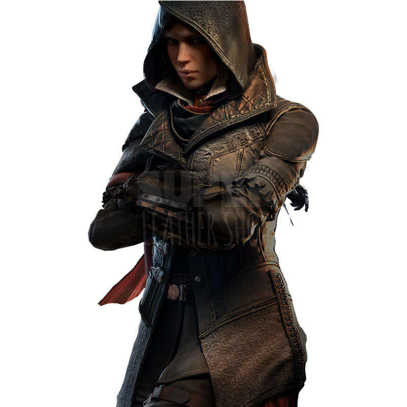Assassin S Creed Syndicate Evie Frye Jacket Costume Superleathershop Online Leather Store