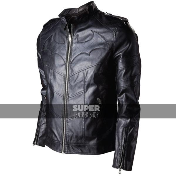 Batman Arkham Knight Game Black Leather Jacket