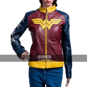 Diana Prince Wonder Woman Jacket