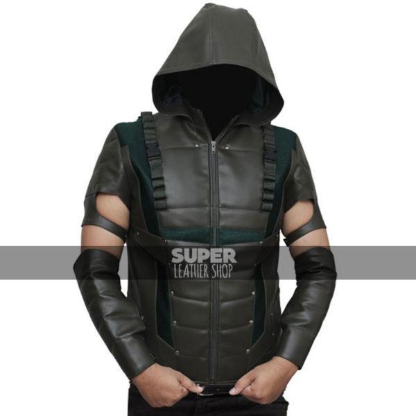 Green-arrow-season-4-stephen-amell-vest