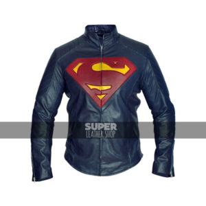 Man Of Steel Superman Henry Cavill Blue Jacket