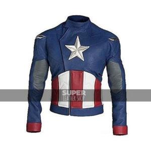 Captain America First Avenger Chris Evans Old-school Jacket
