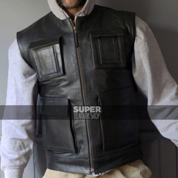 Star Wars Smuggler Han Solo Harely Riders Vest Jacket