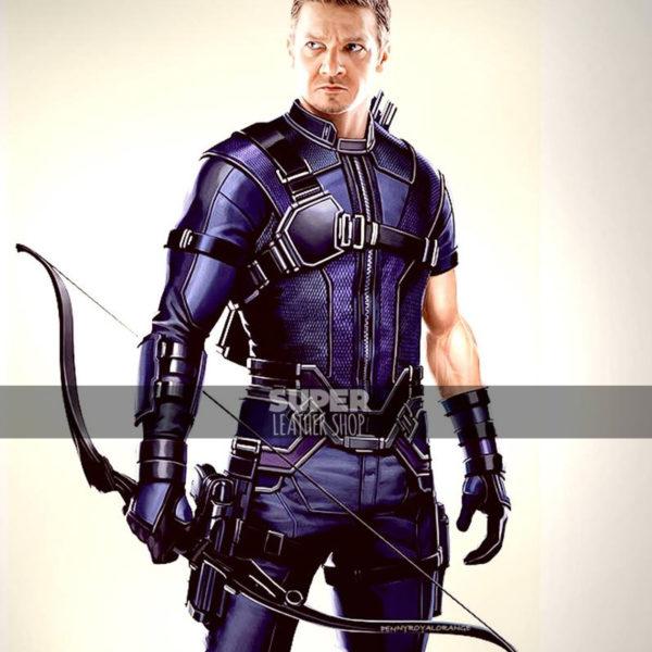 Captain America Civil War Jeremy Renner Hawkeye Jacket