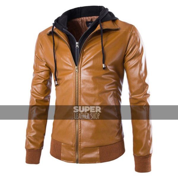 slim-fit-tan-bomber-hoodie-jacket-2