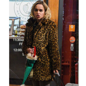 Leopard Coat Faux Fur