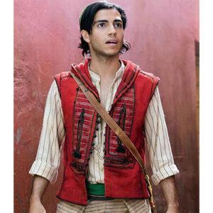 Red Hooded Aladdin Vest