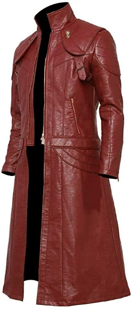 Men's Stylish Long Trench Devil May Cry 5 Dante Coat
