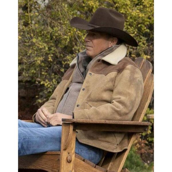 Kevin Costner Yellowstone Jacket