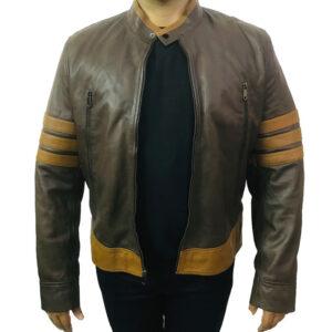 X - Men Origins Wolverine Leather Jacket