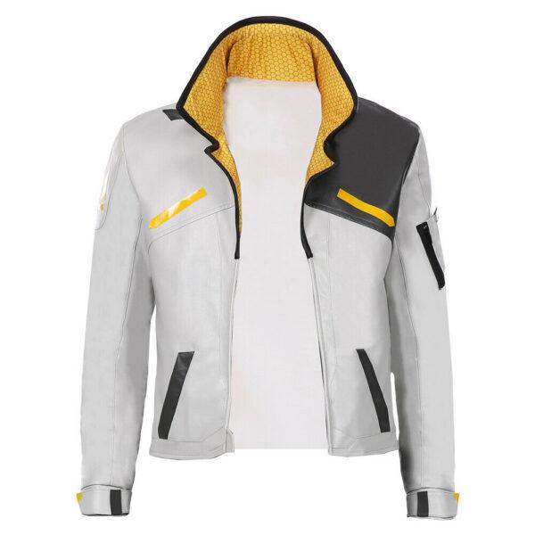 Halloween Game Valorant-Phoenix Costume Top Jacket-Super Leather Shop-1