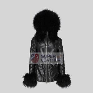 Women Puffer Hooded jacket