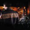 Men Leather Jacket for Men-Harley Davidson Black Biker Genuine Jacket-Slim Fit-Stand Collar-Real Cow Zip Up Jacket