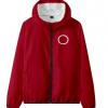 Circle-Men Women Jacket Pant Set Squid Game Square Circle Geometry Stand Collar 2