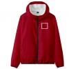SQUARE-Men Women Jacket Pant Set Squid Game Square Circle Geometry Stand Collar 3